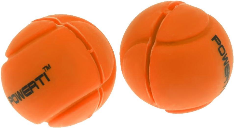 Toygogo 2er Pack Premium Silikonball Schwingungsd/ämpfer Tennisschl/äger Zubeh/ör