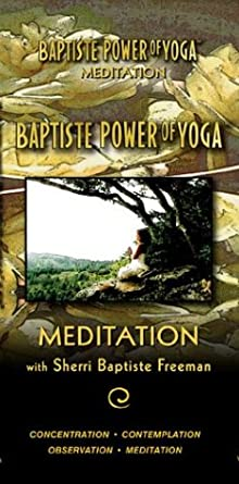 Amazon.com: Baptiste Power of Yoga Meditation with Sherri ...