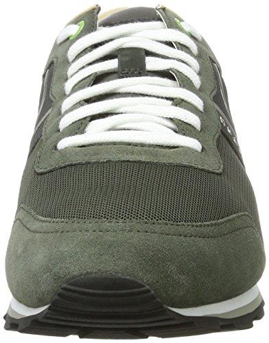 BOSS Athleisure Herren Parkour_Runn_nymx 10191435 01 Sneaker Grün (Dark Green)