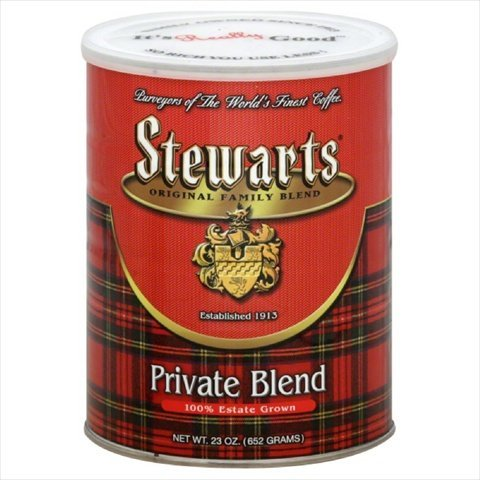Stewarts Original Family Blend Private Blend Coffee, 23 Ounce (Pack of 6) by Stewart's