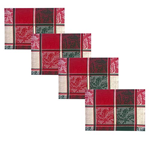 Newbridge Wildlife Country Rustic Lodge Plaid 100/% Cotton Bear and Cabin Cotton Jacquard Weave Holiday Tablecloth Moose 70 Round 70 Round