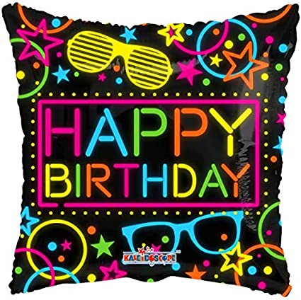 "Ribbon /& Stars Table Cover 102/"" x 54/"" Happy Birthday Party Tableware Supplies"