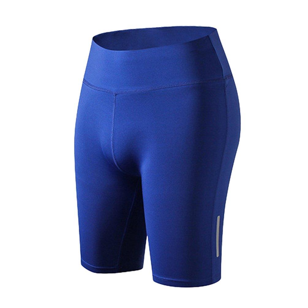 YiJeee Damen Kompression Sport Kurze Hosen Yoga Running Fitness Stretch Tights Shorts