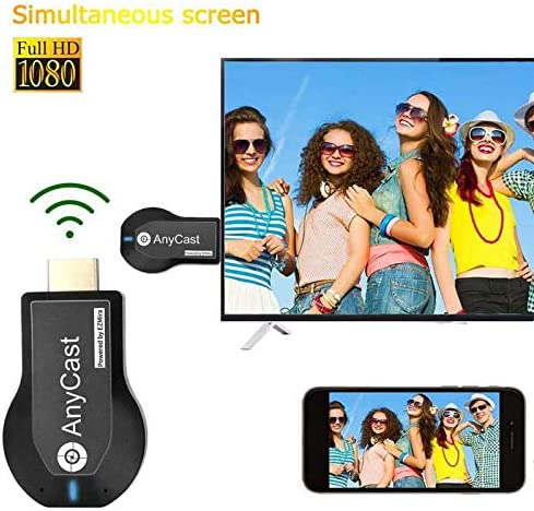 HLPIGF sans Fil WiFi M2 Plus Affichage TV Dongle Receveur pour DLNA Airplay HDMI Cl/é T/éL/é pour iOS Android