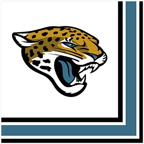 Amscan ''Jacksonville Jaguar Collection'' Luncheon Napkins, 96 Ct.