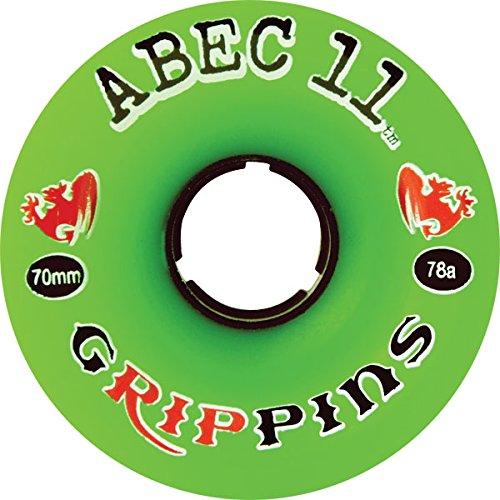 技術者歴史予備ABEC11 GRIPPINS 70mm 84a (Set Of 4) by ABEC 11
