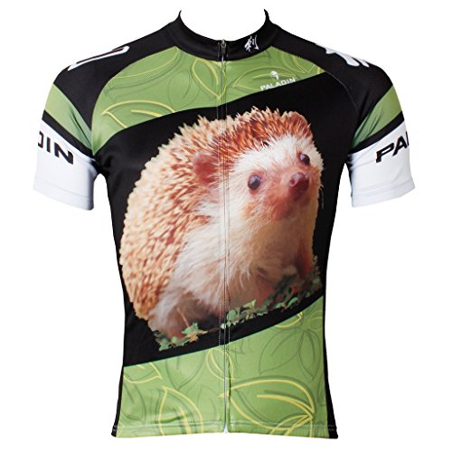 paladinsport-3d-animals-hedgehog-mens-short-sleeve-cycling-jerseys-size-m