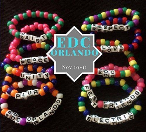 Edc kandi bracelets. Electric Daisy Carnival bracelets. Edc orlando bracelets. Plur bracelets. Rave bracelets. Rave kandi. EDC Vegas. Edc clothing. EDC outfits, edc ideas