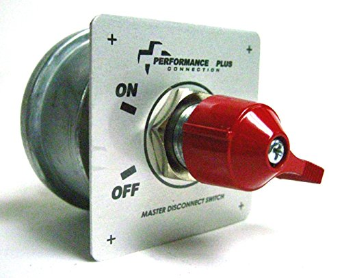 Battery Disconnect Kill Safety Shut Off Switch with Face Plate