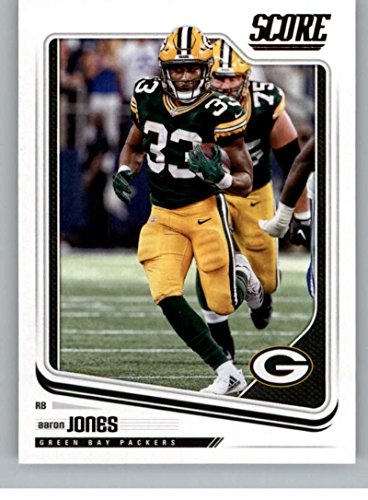 2018 Score #116 Aaron Jones Green Bay Packers Football Card