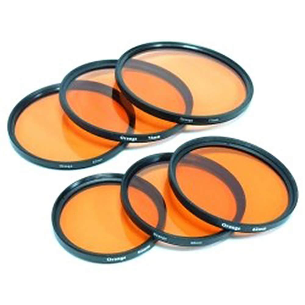 BeMatik Filtro fotografia Naranja para Objetivo de 62 mm