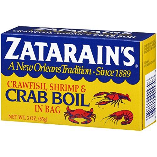 Zatarain's Crab Boil Seasoning;Dry Crab Boil;New Orleans's Tradition Since 1889;3 -
