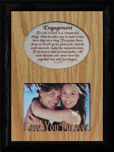 Amazon.com - ENGAGEMENT Laser & Poetry Frame ~ Wonderful Wedding ...