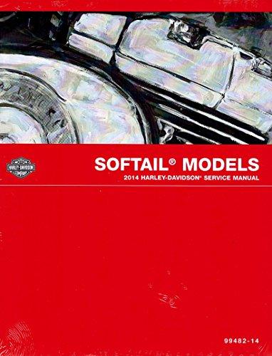2014 Harley-Davidson Softail Models Service Shop Repair Manual, Official Factory Manual, Part Number 99482-14