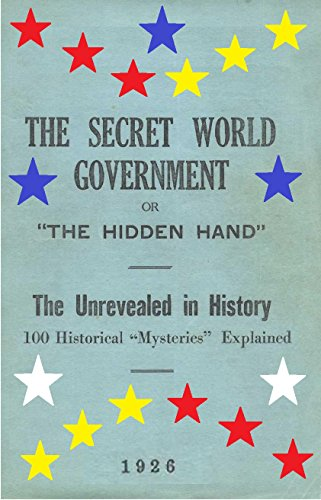 Amazon com: SECRET WORLD GOVERNMENT: HISTORICAL MYSTERIES EXPLAINED