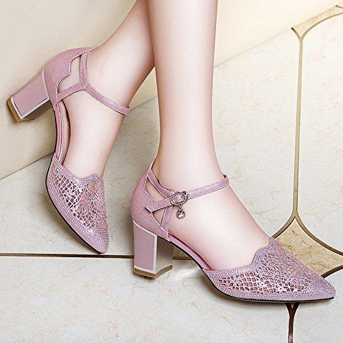 Célébrez An le Nouvel An Célébrez Nol ChaussureSHAOGE EU33 Avec Chaussures à Les Hauts Pour Des Talons 3f5f7d