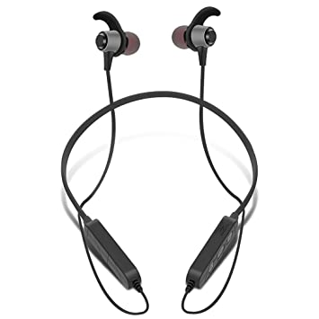 Auriculares Bluetooth Sport Lightweight Neckband Magnet Long Battery Auriculares Bluetooth (Color : Negro): Amazon.es: Electrónica