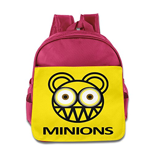 MY LORD Yellow Capsule Banana Soldier Head Band Backpack / Kids' School Backpack (Minions Movie: Minion Kevin Adult Costume)