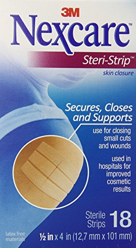 Nexcare Steri-Strip Skin Closure, 18-Count (Wrap Athletic Nexcare)