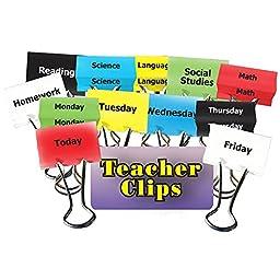 TOP NOTCH TEACHER PRODUCTS CLASSES & DAYS OF WEEK TEACHER (Set of 6)