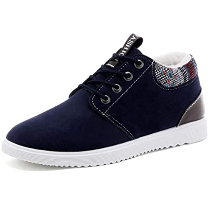 a99f29ef592f Amazon.com : XUE Men's Shoe,Winter Comfort Low-Top Sneakers ...