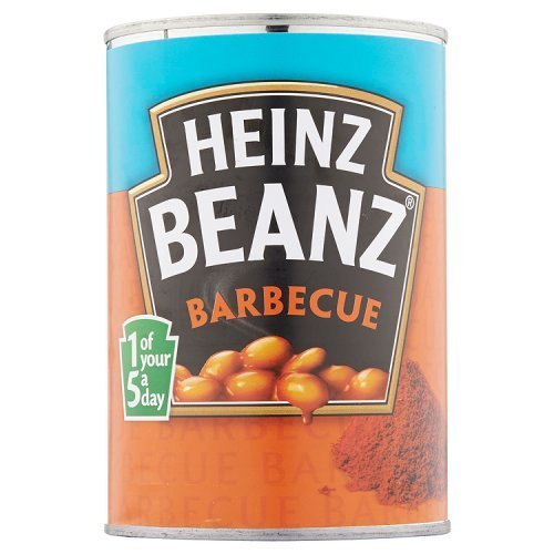 Heinz Beanz Barbecue 390g - Gebackene Bohnen in BBQ-Soße