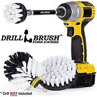 Kit de 3 piezas de accesorios para cepillo para polvo de limpieza de taladro para fregar y limpiar con extensión