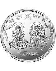 10gm Ganesh Lakshmi Ji Silver (999.9%) Pure Coin Festival gift
