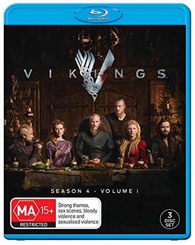 Vikings Season 4 Volume 1 | 3 Discs | NON-USA Format | Region B Import - Australia