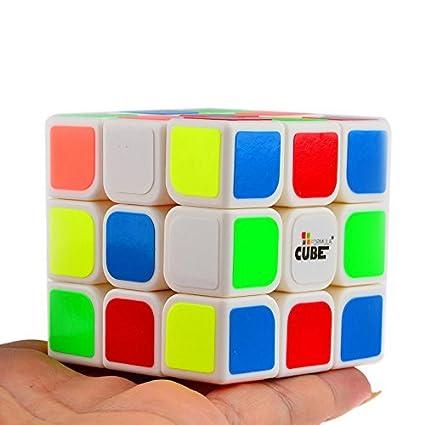 Magic Cube Formula 3x3x3 Three Layer 56mm White