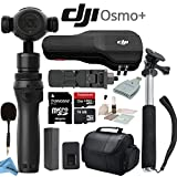 DJI OSMO Plus Starters Bundle - Includes Selfie Stick, Carrying Case, 32GB MicroSD Memory Card and more...