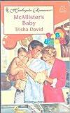 McAllister's Baby, Trisha David, 0373034725