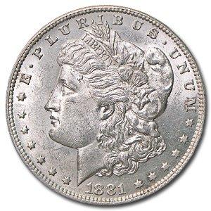 1881 O Morgan Silver Dollar - Brilliant Uncirculated at Amazon\u0026#39;s ...