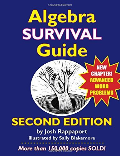 By Josh Rappaport - Algebra Survival Guide: A Conversational Handbook for the Thoroug (2nd Edition) (2015-04-25) [Paperback]
