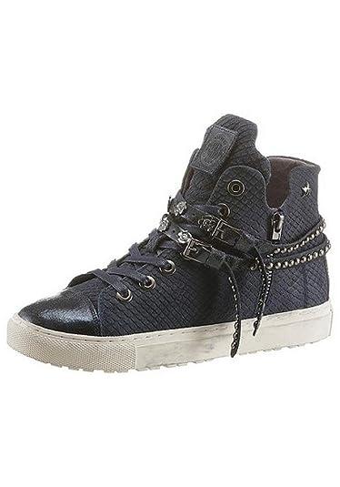 new concept a6aab 458a9 Replay Damen Sneaker Schuhe blau Nieten Größe 37 (37 ...