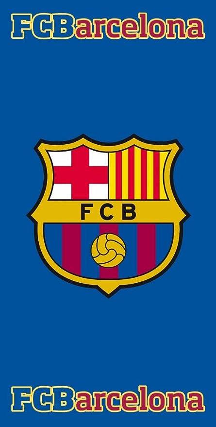 Toalla FC Barcelona escudo 75x150cm