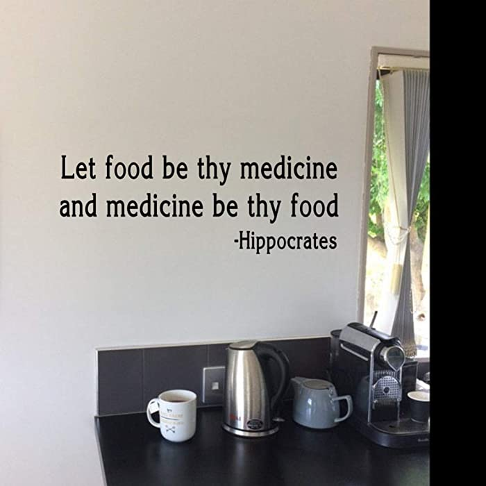 The Best Food As Medicine Wall Decor