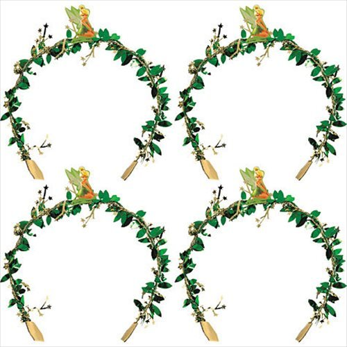 [Tinker Bell Headbands / Favors (4ct)] (Tinker Bell Child Tiara)