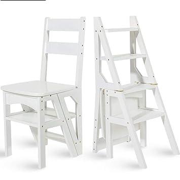 Super Amazon Com Lldmz Household Multi Function Ladder Stool Andrewgaddart Wooden Chair Designs For Living Room Andrewgaddartcom