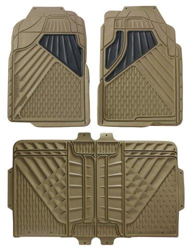 Hopkins 79002 Go Gear Full Size Heavy Duty Beige Floor Mats (4 Piece ()