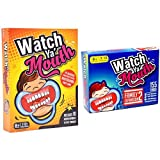 Watch Ya' Mouth Party Card Game, Family Bundle 2