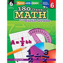 180 Days of Math for Sixth Grade (180 Days of Practice)