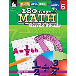 Amazon.com: 180 Days of Math for 6th Grade - Sixth Grade Math ...