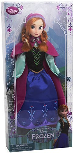 [Disney Frozen Exclusive 12 Inch Classic Doll Anna - 2013 Edition, Model: 411047224708, Toys & Play] (Baby Anna Costumes Frozen)
