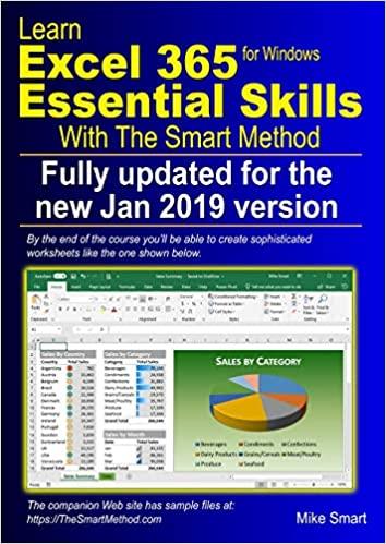 Amazon com: Learn Excel 365 Essential Skills with The Smart