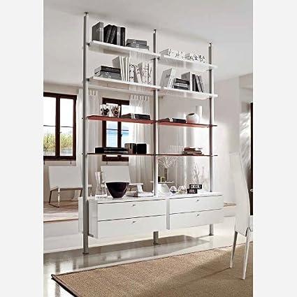 Libreria moderna - PR510: Amazon.it: Casa e cucina