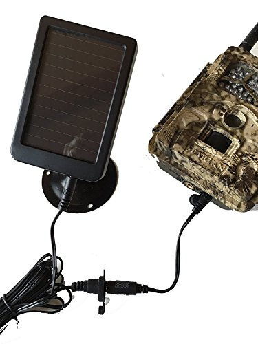 Spartan Camera 6 Volt mono-crystalline solar panel with 1500mAH rechargeable battery by WRI