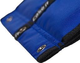 Case-it Locker Accessory Large Size Pencil Pouch, Blue, PEN-06-BLU