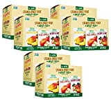 Sensible Foods Crunch Dried Fruit, 20 Count (6 Boxes)