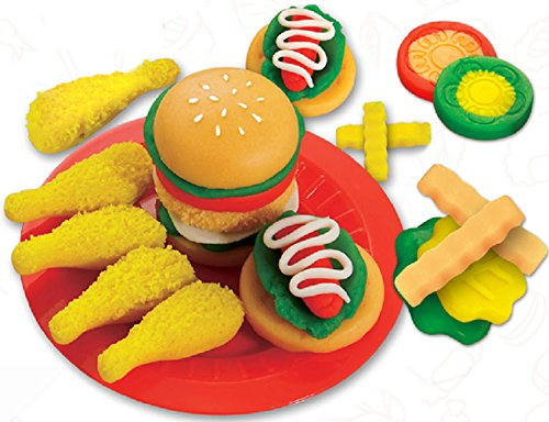 Holly The Owl Child Costumes (Chickwin Color Clay Suit 3D Rubber Mud Creative Mud Safe Non - Toxic Parent - Child Toys, Children's Environmental Toys Gift Puzzle. (hamburger style))